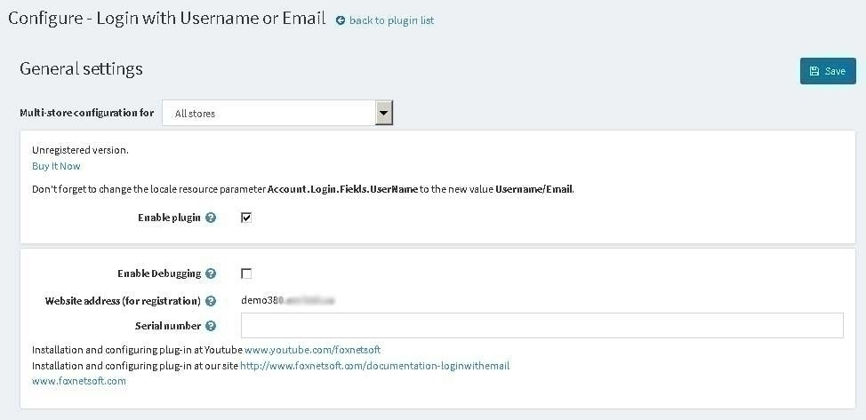 Login with Username or Email - nopCommerce