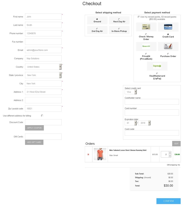 Picture of Simple Checkout