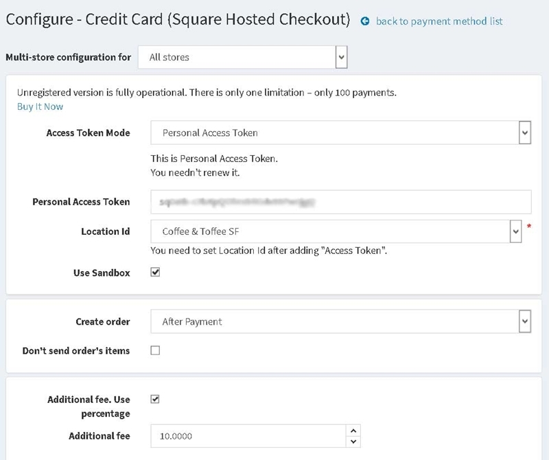 Picture of Square Hosted Checkout
