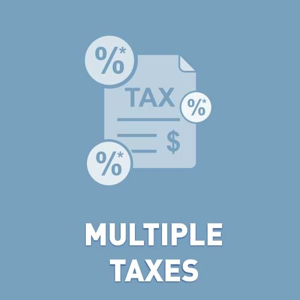 Picture of Multiple Taxes (Canadian taxes)
