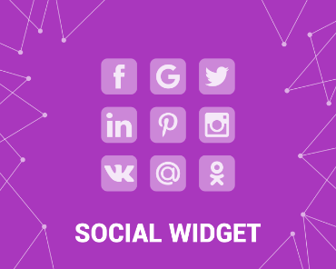 Picture of Social Widget