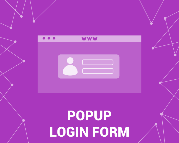 Picture of Popup Login Form