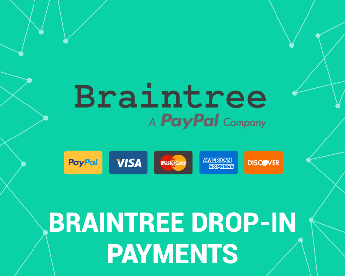 PayPal BrainTree Drop-in