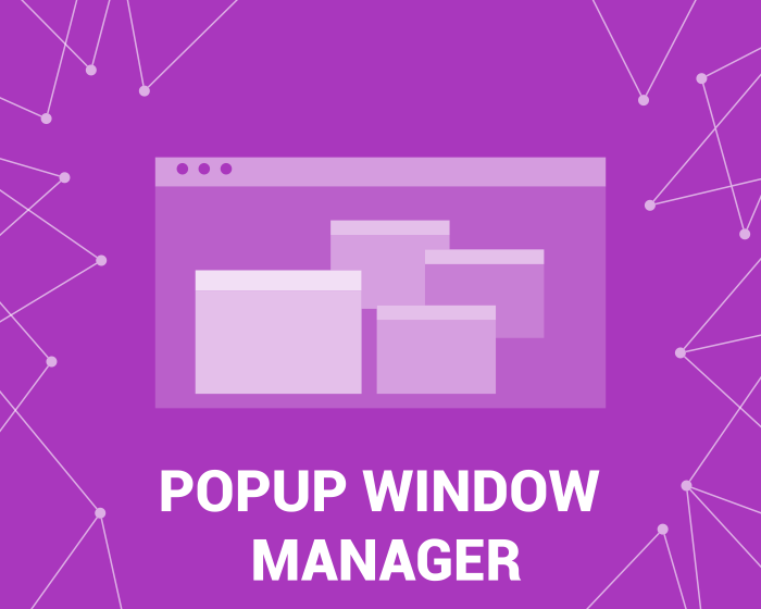 Picture of Popup Manager