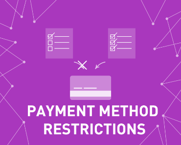 Picture of Payment Method Restrictions