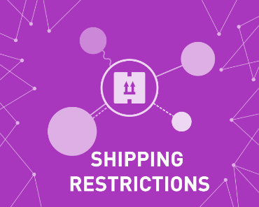 Picture of Shipping Restrictions