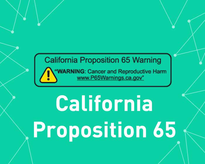 Picture of California Proposition 65 (Geofence content)